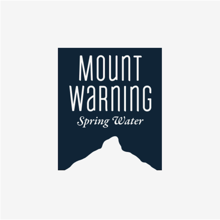 Mount warning spring water portfolio logo