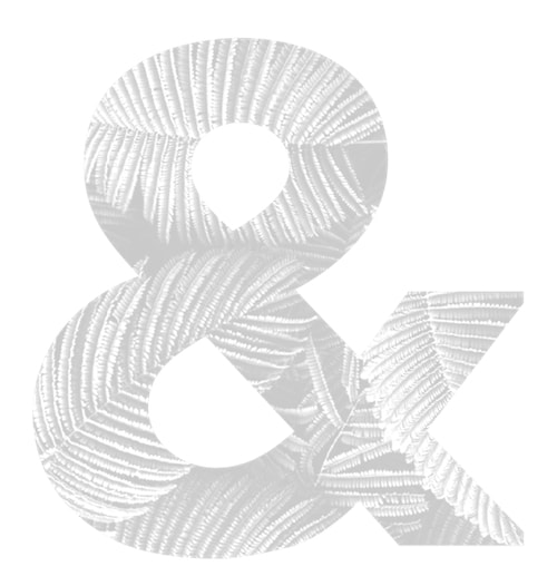 LIGHT GREY AMPERSAND